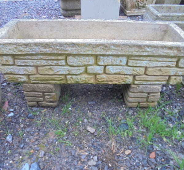 Reclaimed Small Decorative Trough