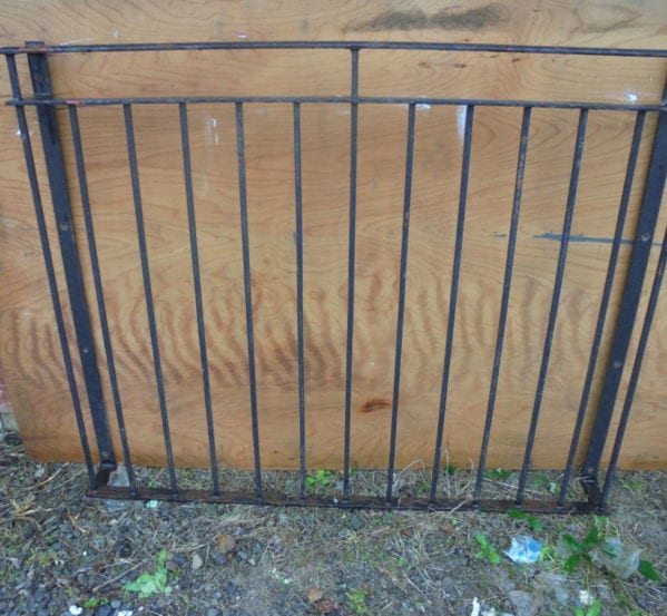 Small Iron Wrought Balcony Railing