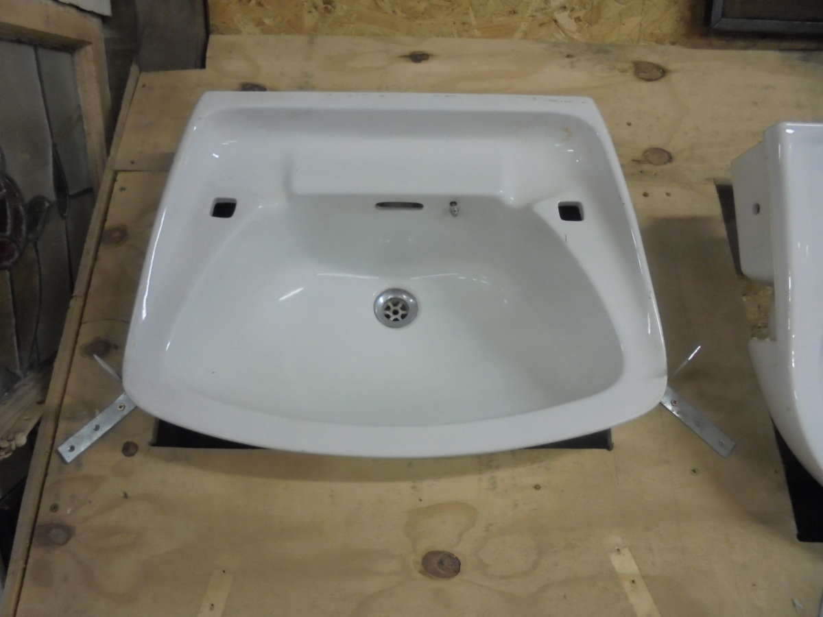 Reclaimed no tap bathroom sink authentic reclamation for Recycled bathroom sinks