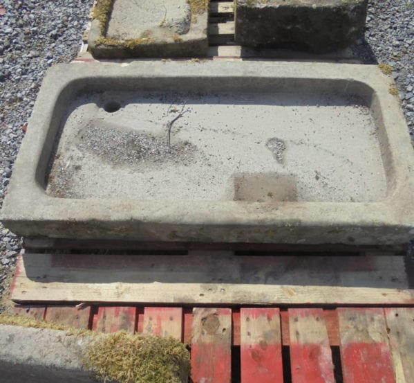 large stone sink