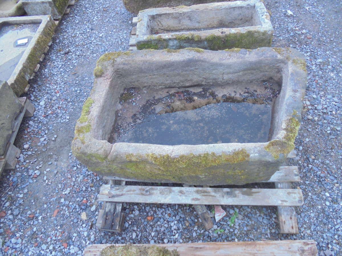 reclaimed rhombus stone trough