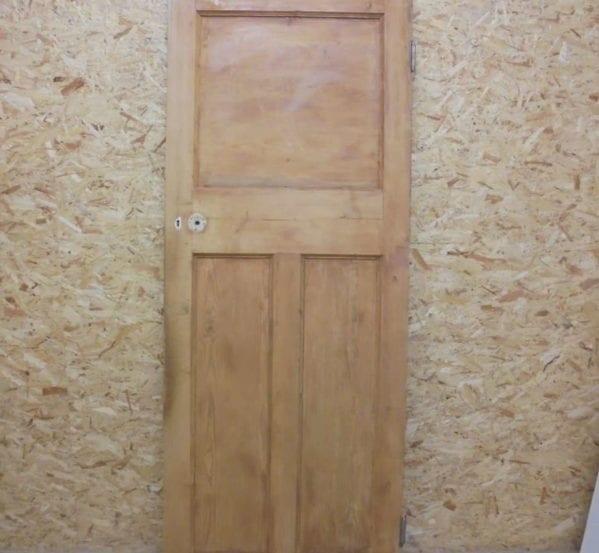 Three Panelled Door (1 over 2)