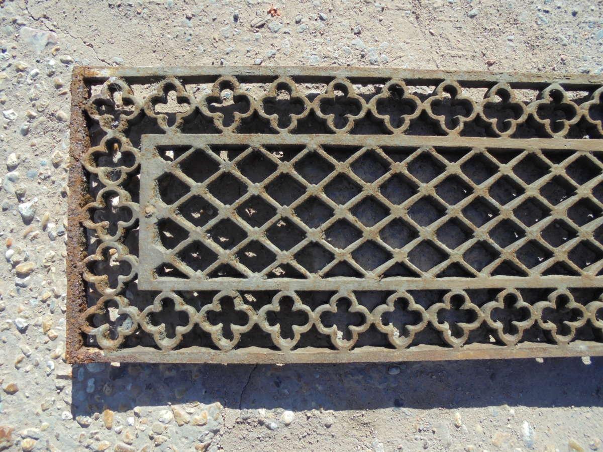 Reclaimed Decorative Cast Iron Panels
