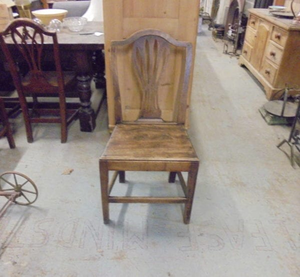 RECLAIMED OAK CHAIR