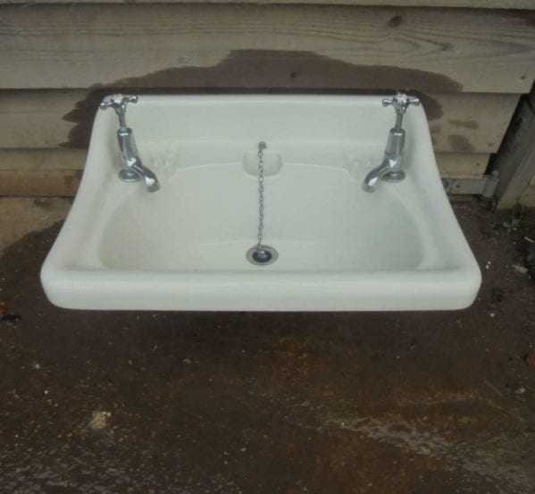RECLAIMED BOLDINGS LONDON SINK