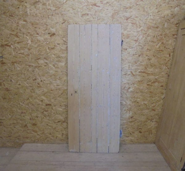 Reclaimed Stripped Ledged Cupboard Door