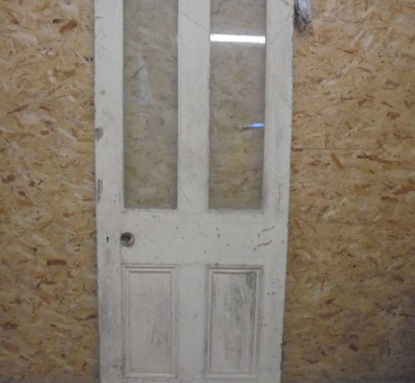 Half Glazed Door With Feature Hinges