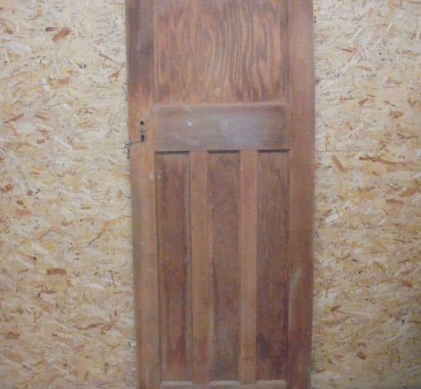 Victorian Stripped 1 over 3 Door