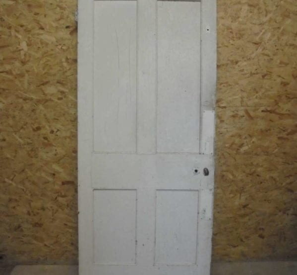 Plain White 4 Panelled Door