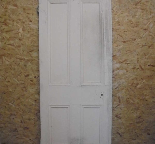 Large Victorian 4 Panelled Door