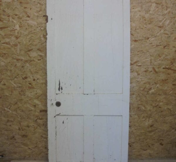 Modest Inlay White 4 Panelled Door