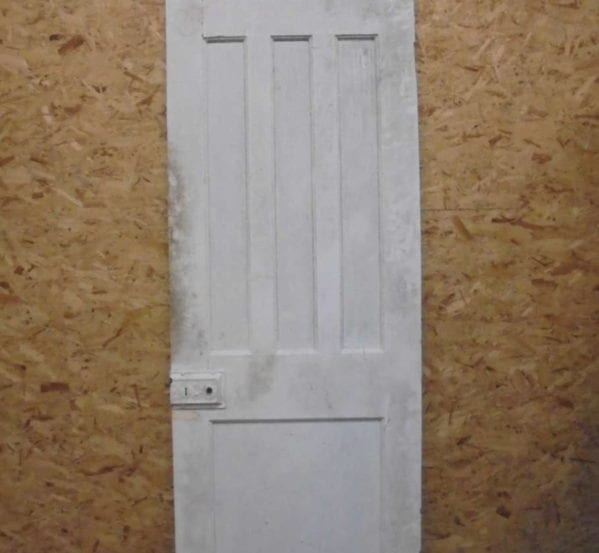 Small 1 over 3 White Door