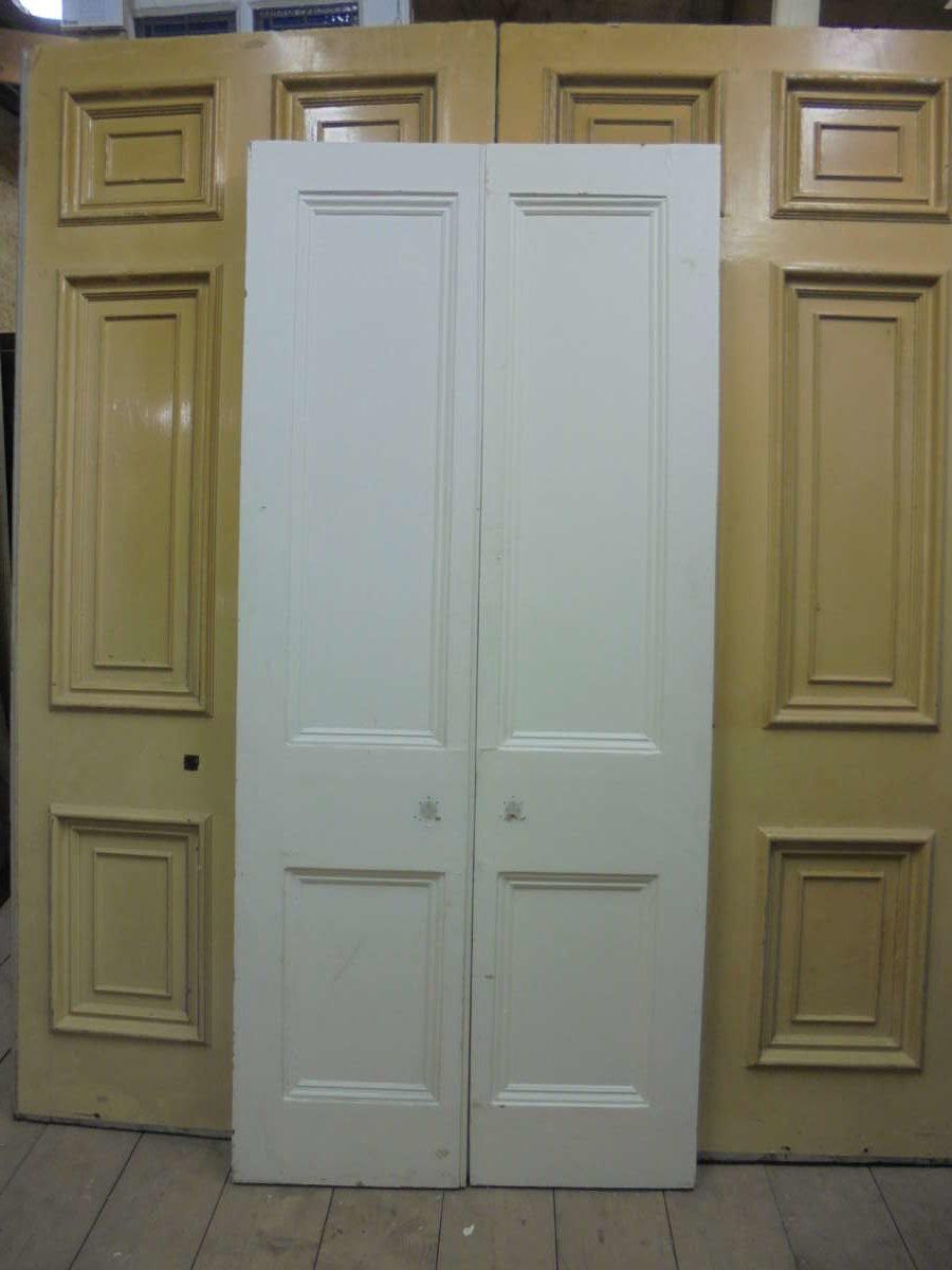 white victorian double doors authentic reclamation