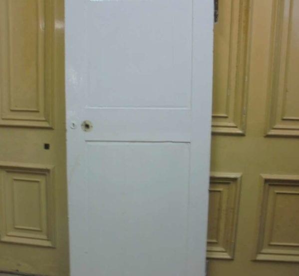 White 2 Panelled Door