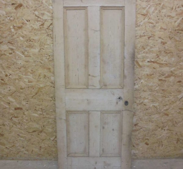 Medium 4 Panel Stripped Door