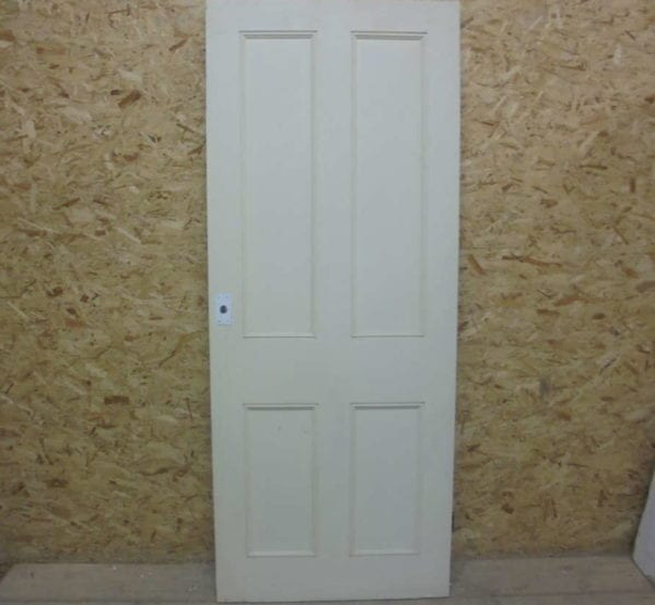 Large 4 Panelled Painted Door