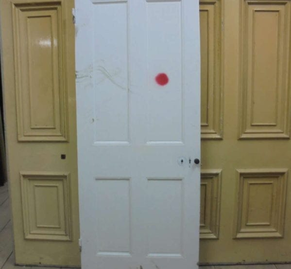 4 Panelled White Door