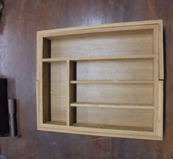 Wooden Expanding Drawer Organiser
