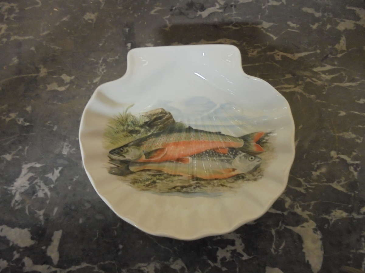 Portmeirion Compleat Angler British Fishes Bowl