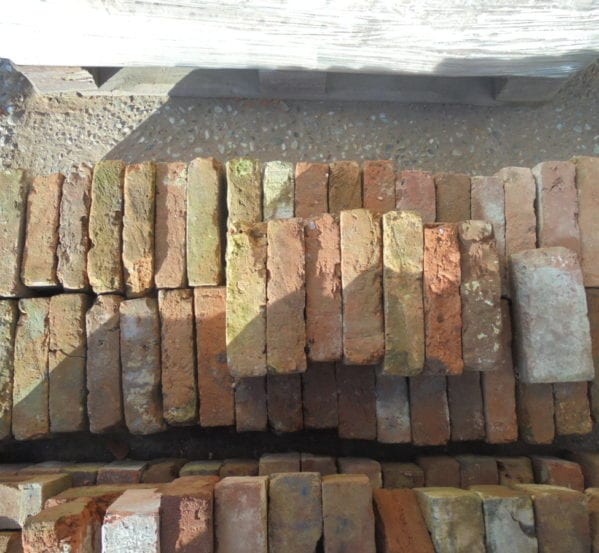 Reclaimed Tudor Bricks