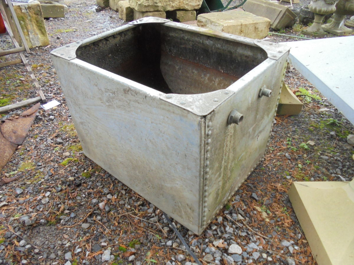 Small Galvanised Trough