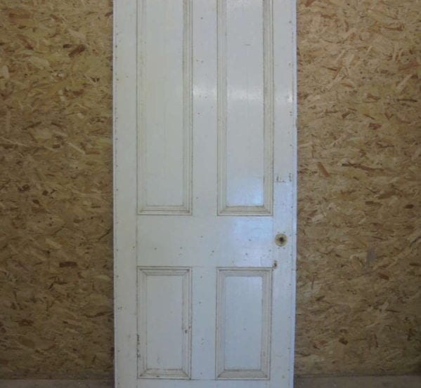 White Quad-inlay 4 Panel Door