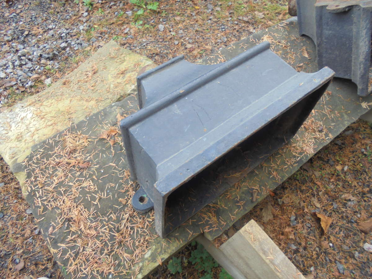 Large Cast Iron Rain Hopper