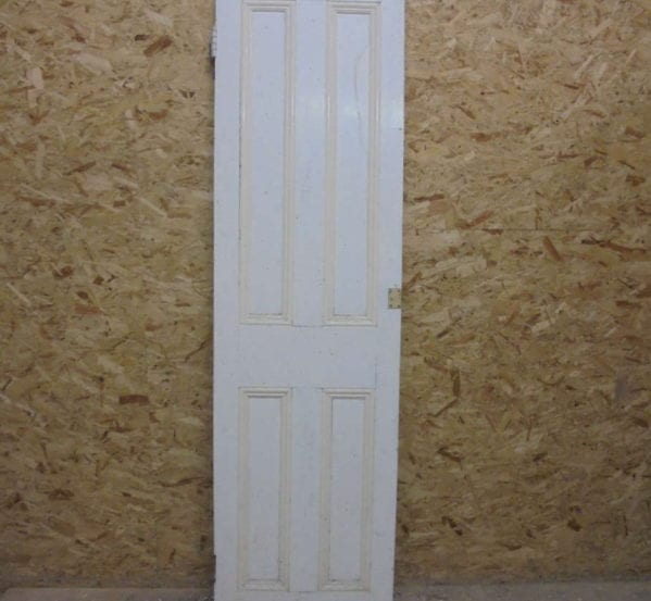 Half No-inlay Thin Painted 4 Panel Door