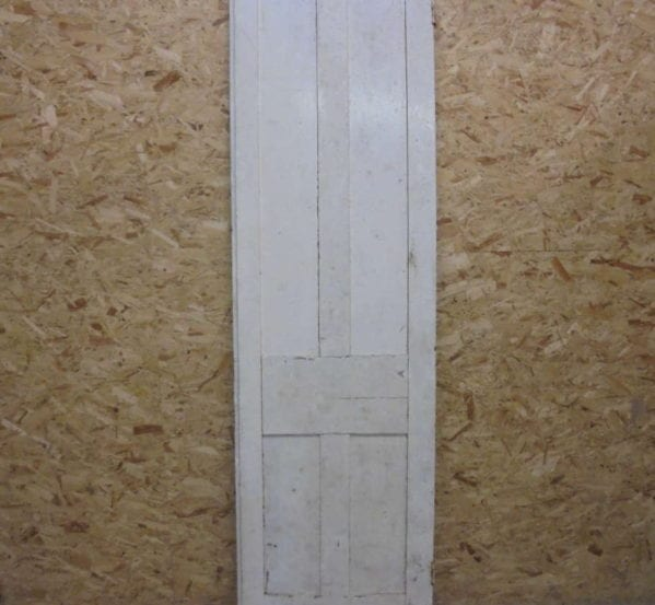 Thin Painted White 4 Panel Door