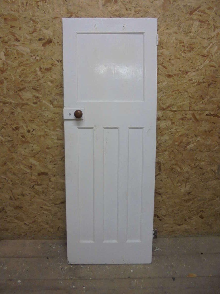 Beautiful half painted 1 over 3 panel door authentic for 1 over 3 panel door