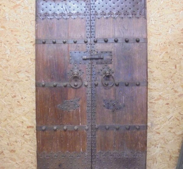 Beautiful Ancient Chinese Double Doors