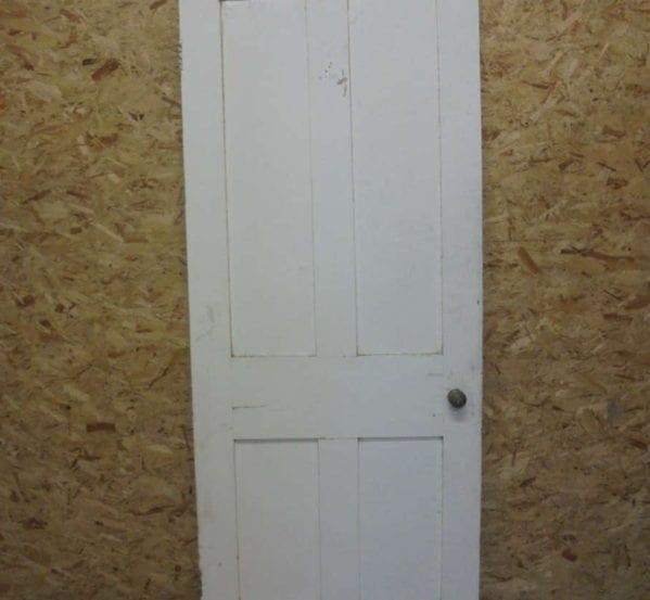 Standard White Painted 4 Panel Door
