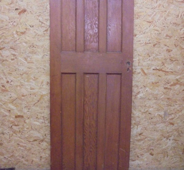 Beautiful Stripped 6 Panelled Door