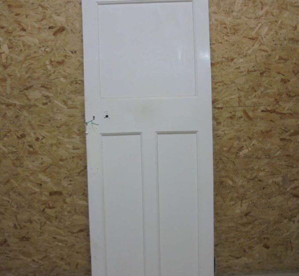 Standard White Painted 1 over 2 Panelled Door