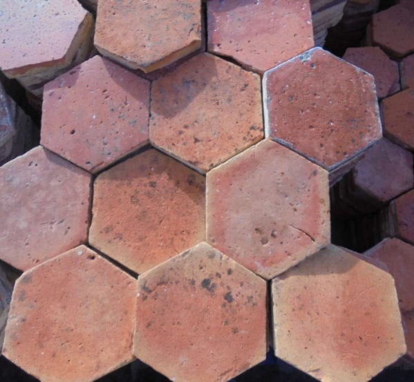 Small Hexagonal French Floor Tiles