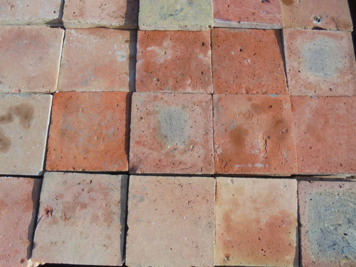 French Terracotta Floor Tiles