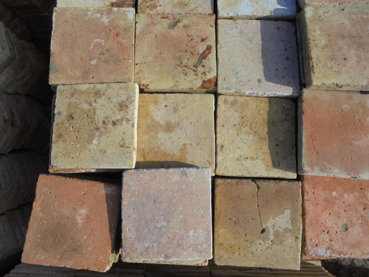 Terracotta French Floor Tiles