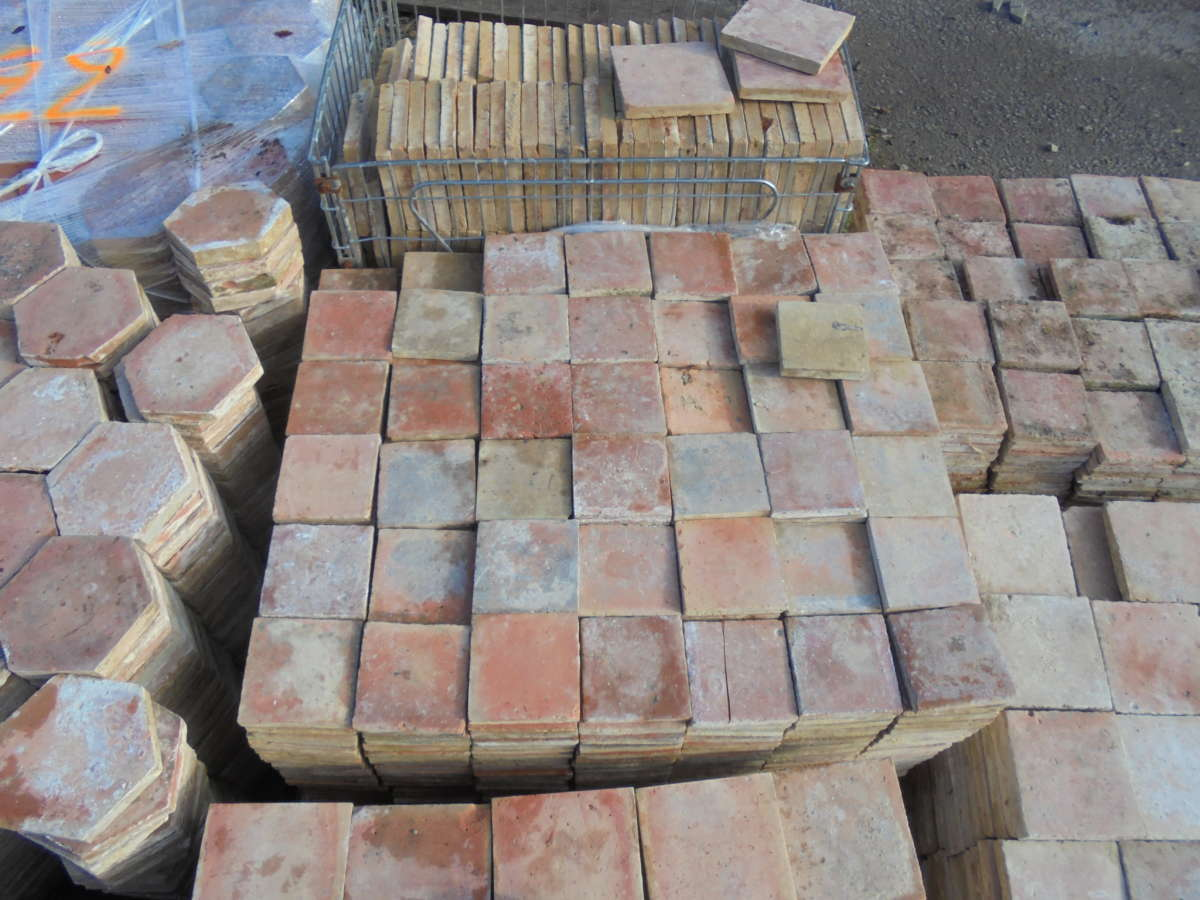 English Terracotta Floor Tiles