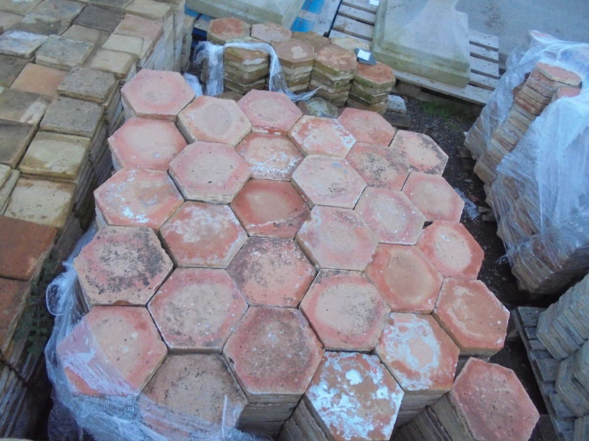 French Floor Tiles Hexagonal
