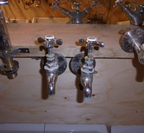 Reclaimed Antique Tap Pair