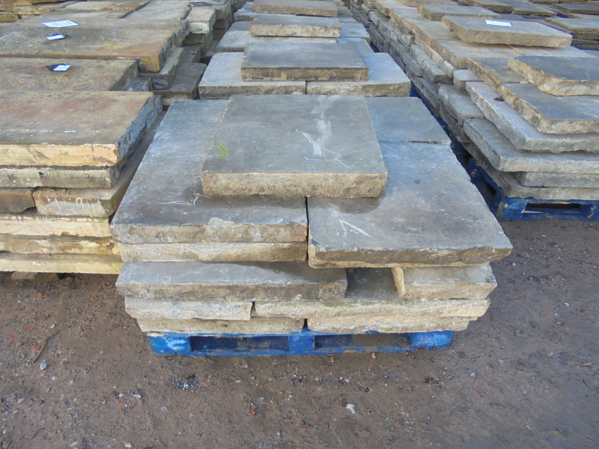 Large Thick Slabs of York Stone