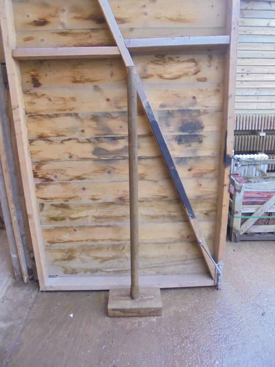 Wooden Turf Tamper