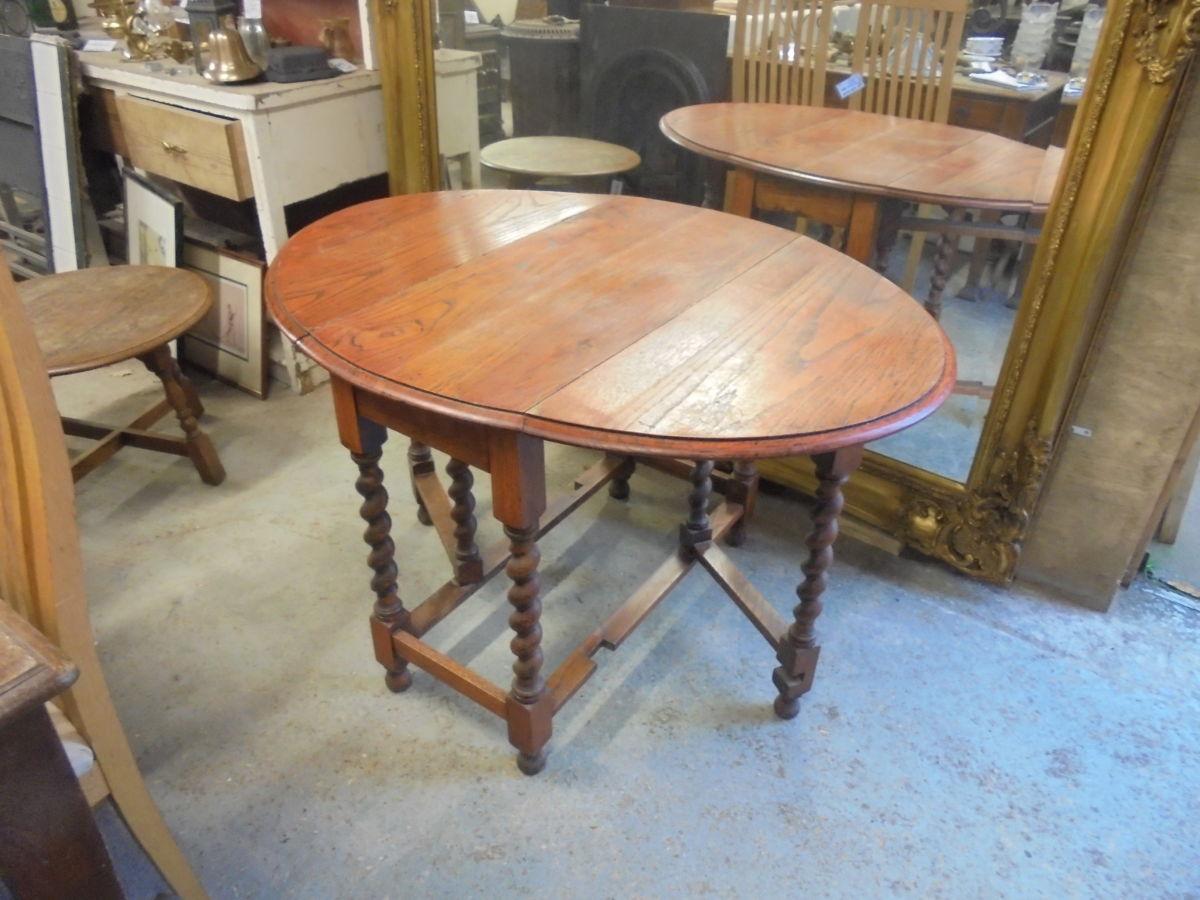 Reclaimed Gate-leg Table