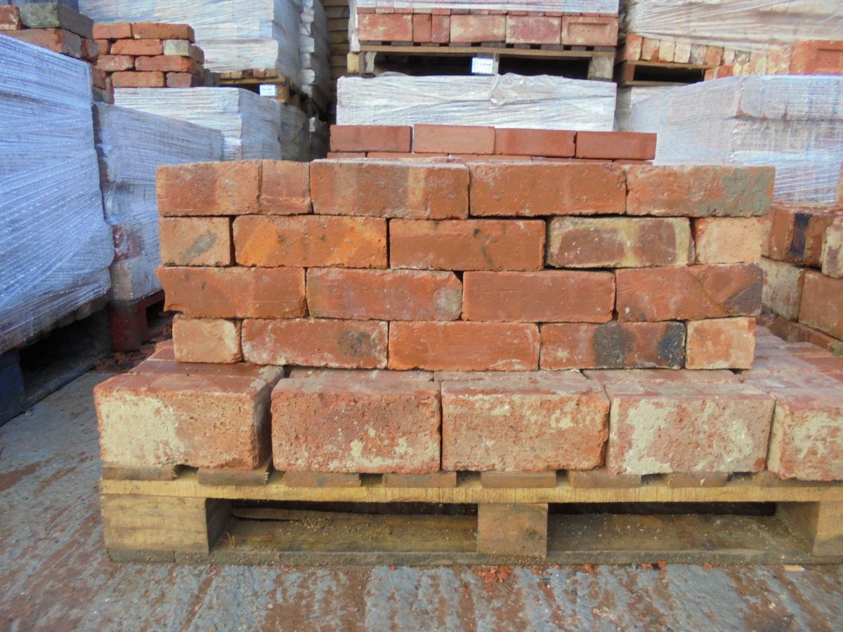 Reclaimed 3 Inch Wire Cut Bricks