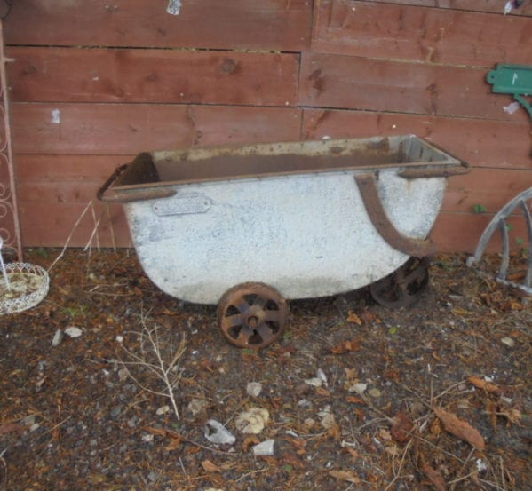 Cast Iron Feed Barrow