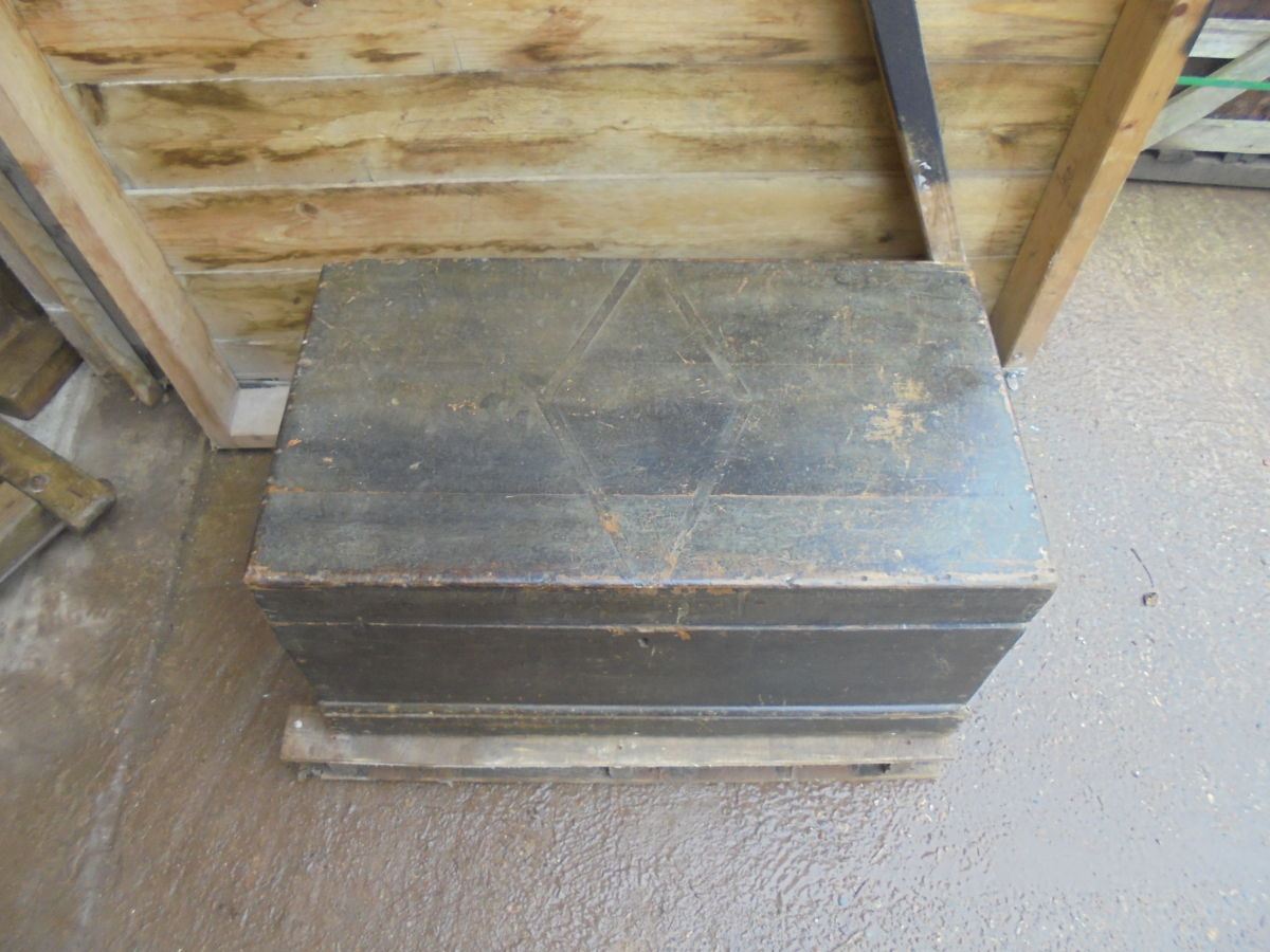 Dark Wooden Chest