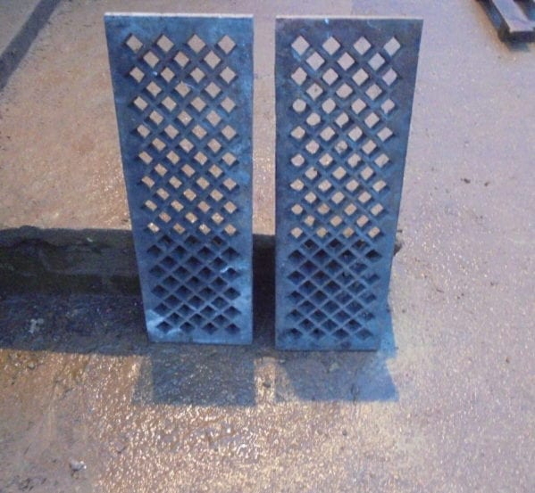 Pair of Reclaimed Grates