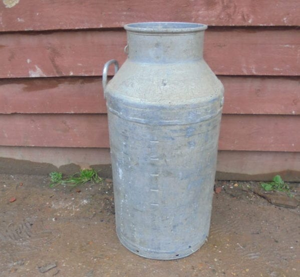 Milk Churn Missing Lid