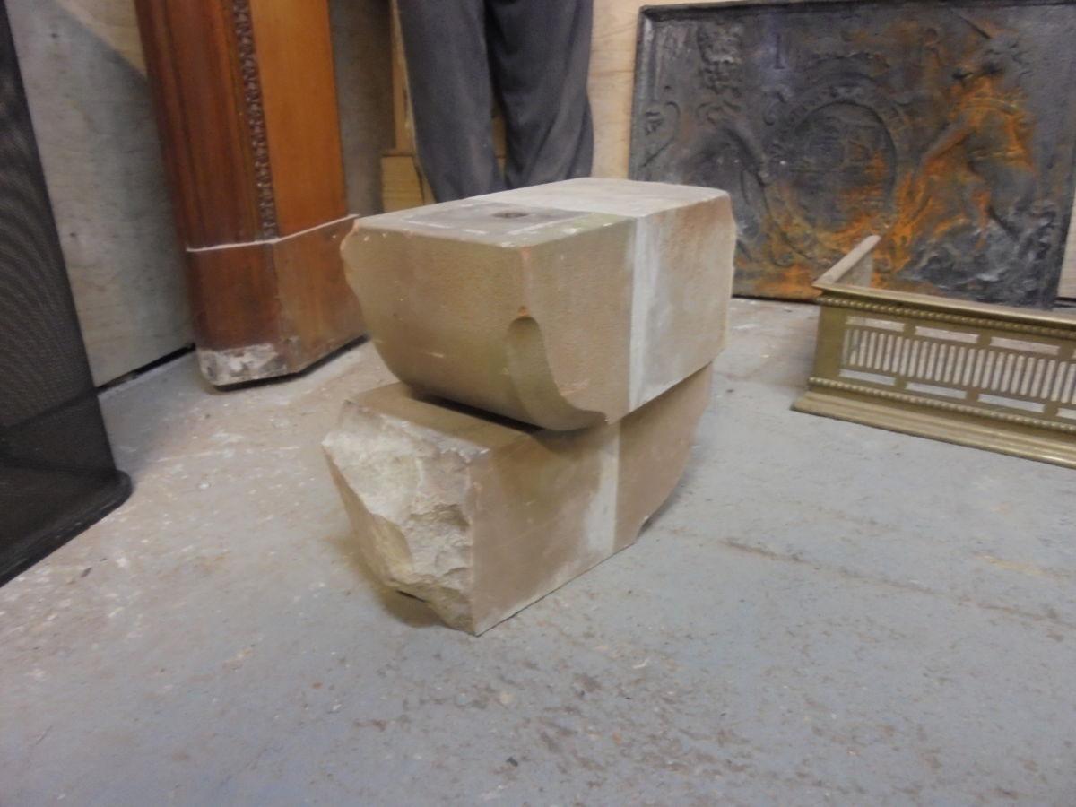 Stone Corbels Pair