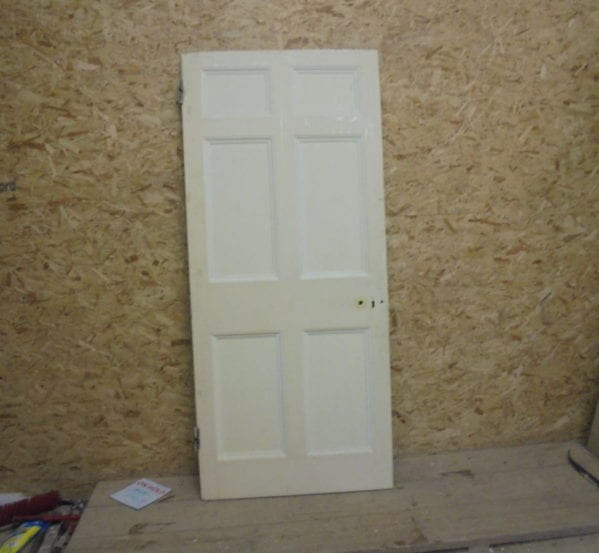 Nice White 6 Panelled Door